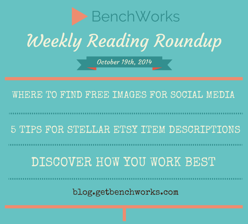 Weekly Reading Roundup - Oct 19th | BenchWorks Blog