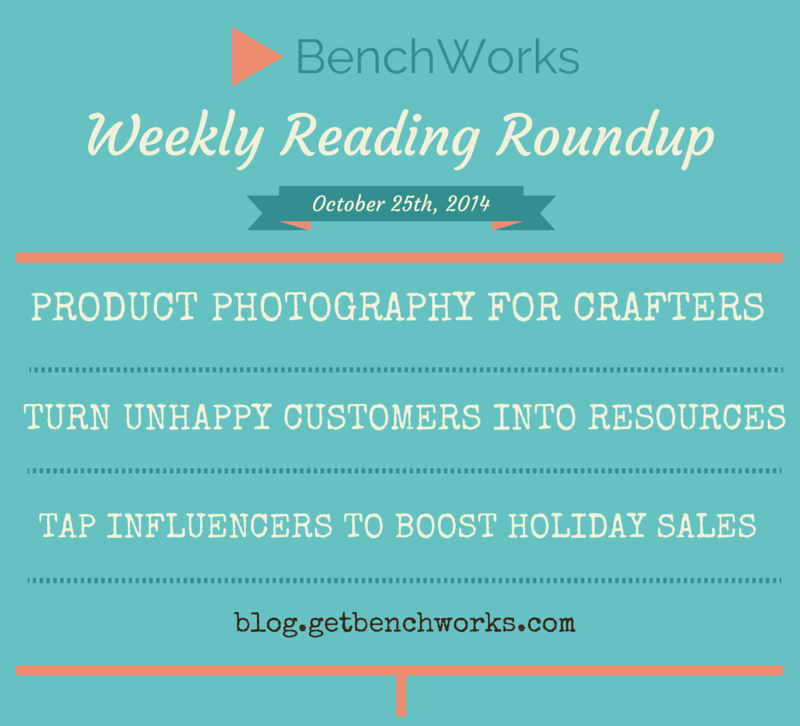 Weekly Reading Roundup - Oct 25th | BenchWorks Blog